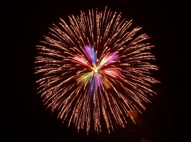 西枇杷島祭り 花火