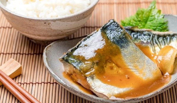 梅酒の梅 煮魚