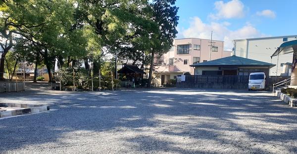 川原神社 名古屋 駐車場