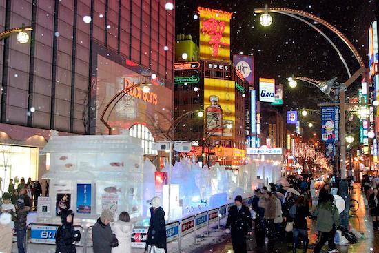 札幌雪まつり すすきの会場