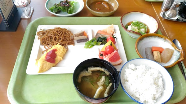 丸駒温泉 朝食