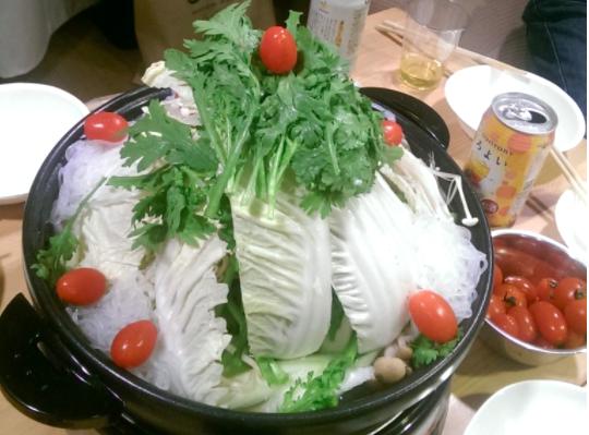 クリスマス 鍋