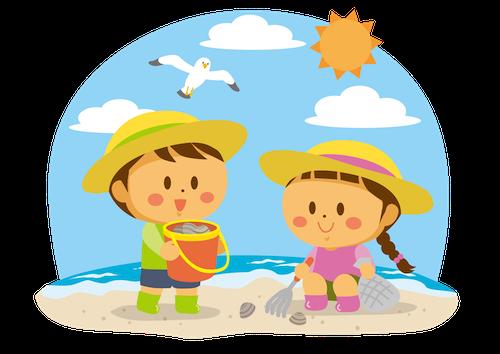 潮干狩り 子供 服装