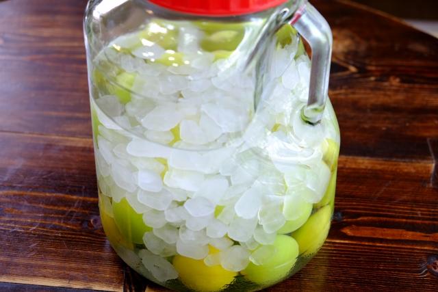 量 梅酒 氷砂糖