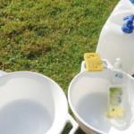 キャンプ 洗い物