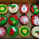 クリスマス カップケーキ デコレーション