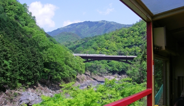 嵯峨野トロッコ