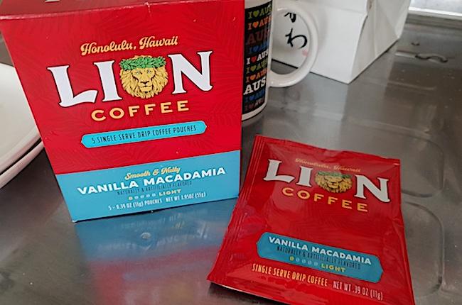 ライオンコーヒー ハワイ
