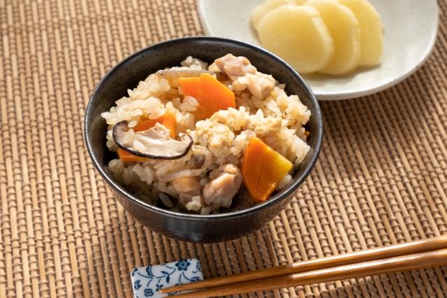炊き込みご飯レシピ