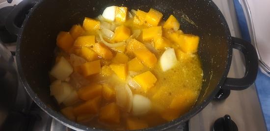 バターナッツかぼちゃ スープ